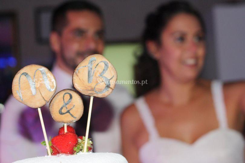 Topo de bolos personalizados