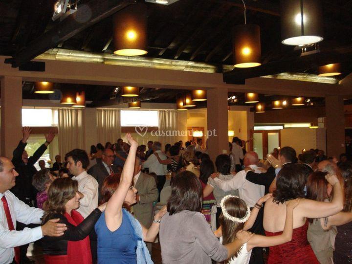 Dança coletiva