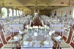 Vista mesa dos noivos