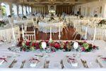 Vista da sala -mesa dos noivos