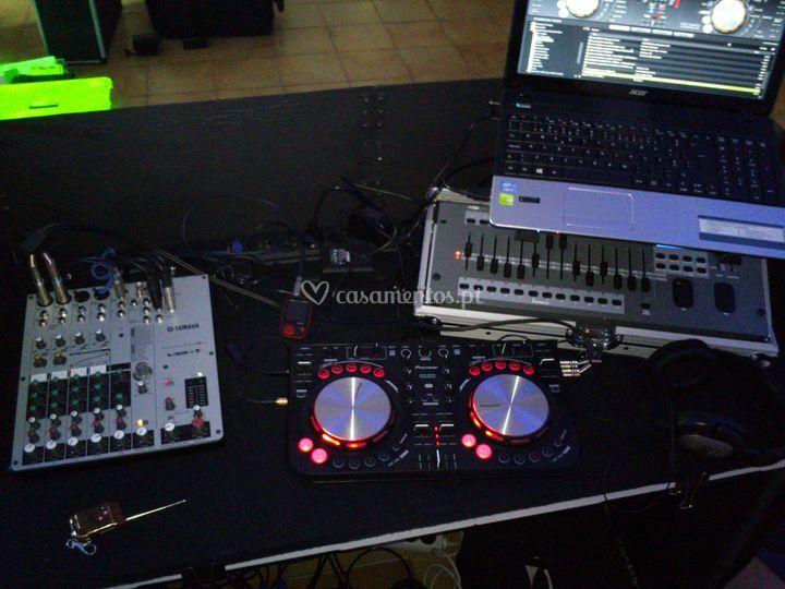 Cabine DJ IN