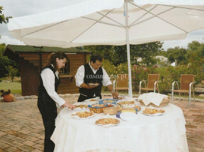 Preparação de catering