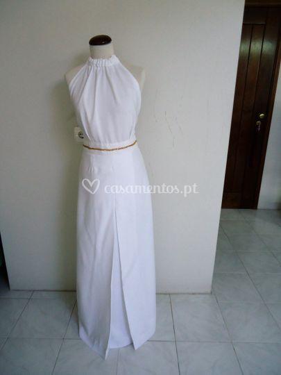 Vestido de cerimónia - frente