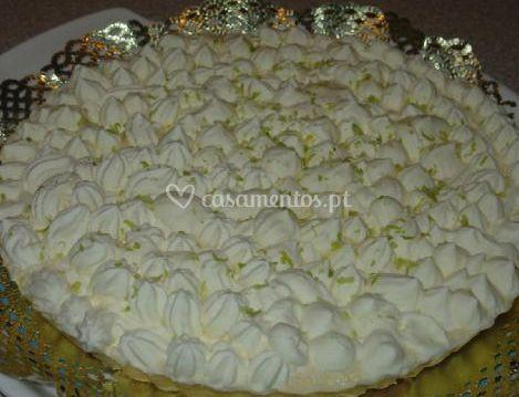 Tarte de mousse de limão