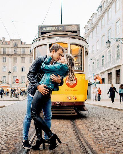 O elétrico em Lisboa