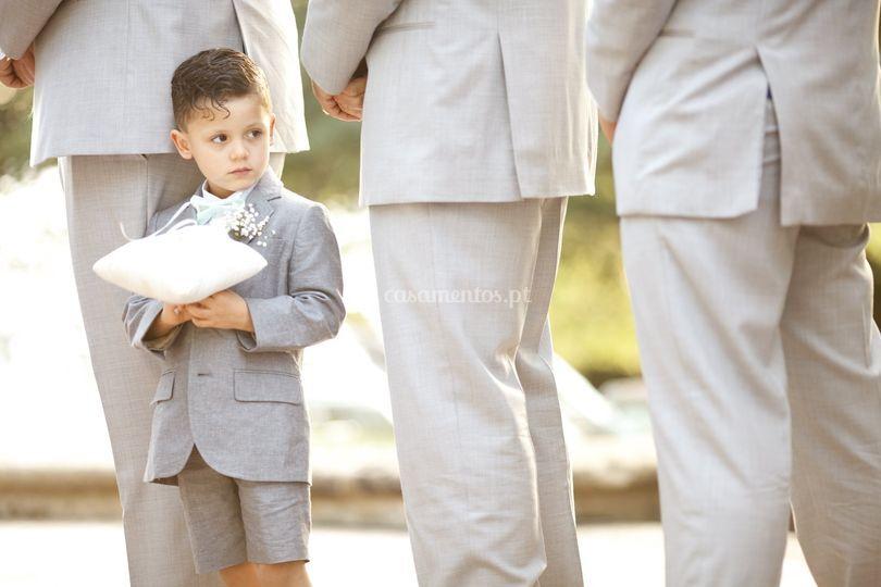 Os homens do noivo