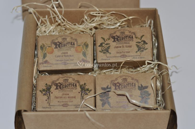 Pack Sabonetes aromáticos