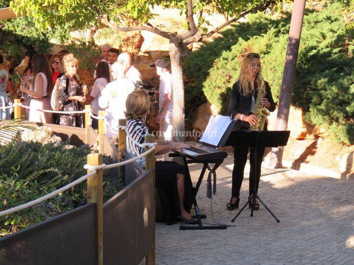 Cocktail - piano e saxofone