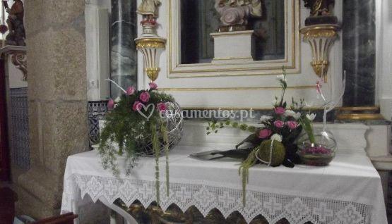 Decoração de Altar