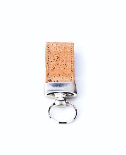 Porta-chaves de cortiça