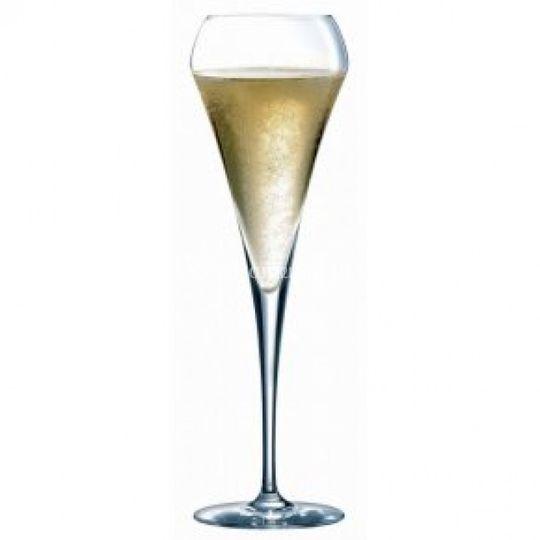 Flûtes champagne gravadas