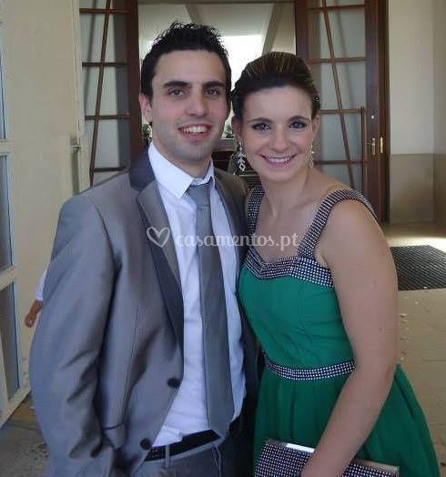Ana Cláudia e Tiago Gonçalves