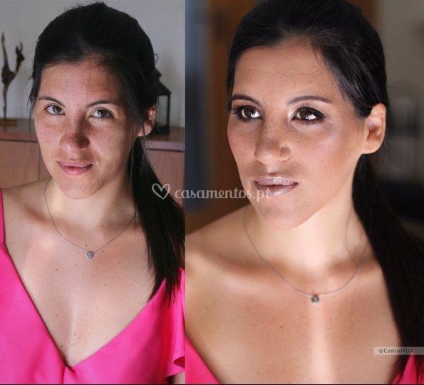 Rita makeup
