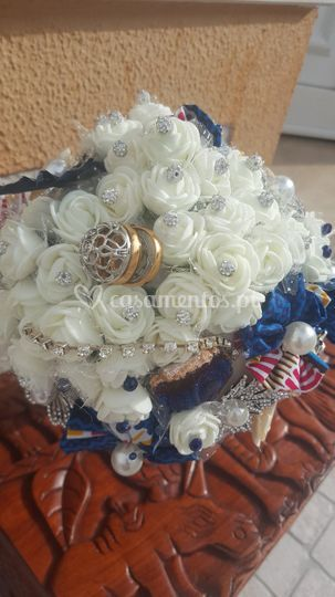 Bouquet capulana/pano african