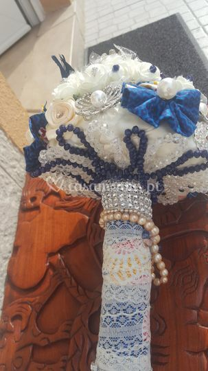 Bouquet capulana/pano africa