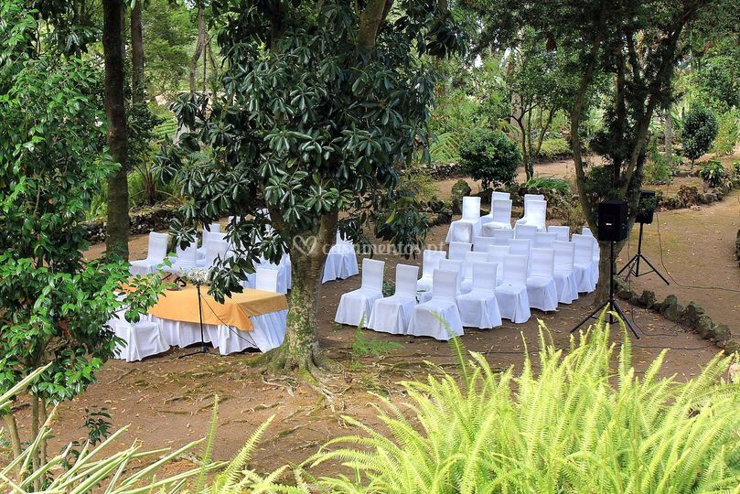 Cerimónia civil jardim botânico