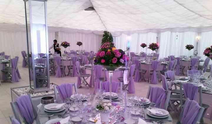 Sala em lilás