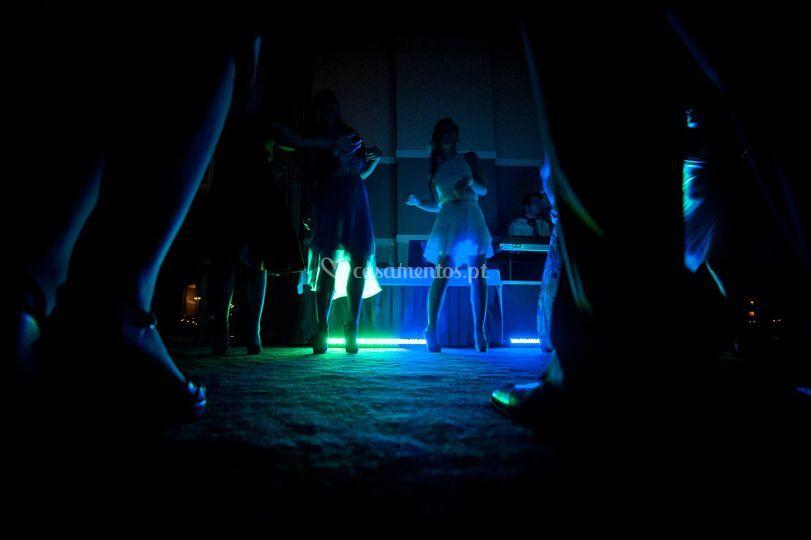 Baile com dj