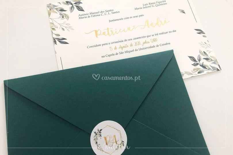 P&A convite