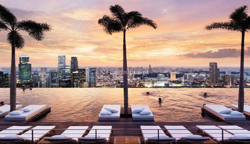 Piscina do Marina Sands Bay