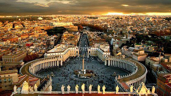 Roma está à sua espera