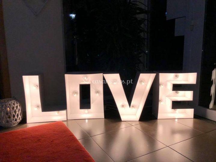 Love decoração