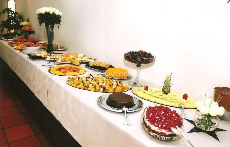 Buffet de sobremesas