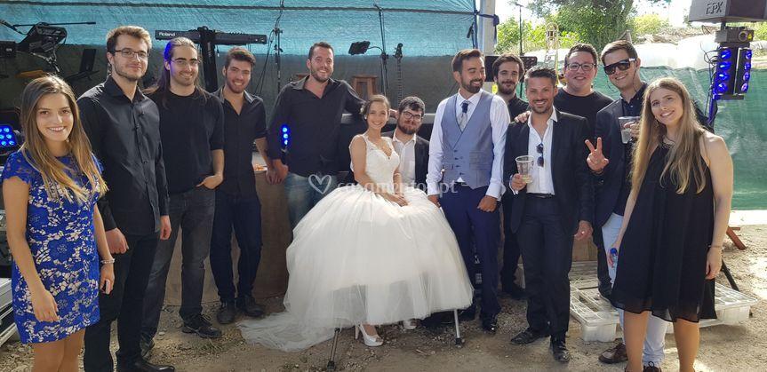 POPados com os noivos