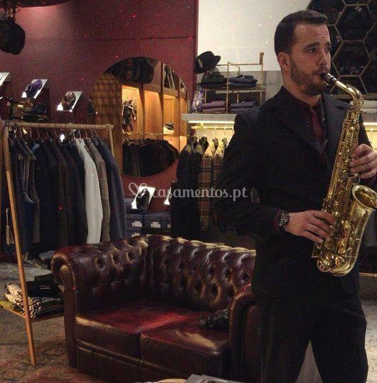 Saxofonista - Miguel Gonçalves