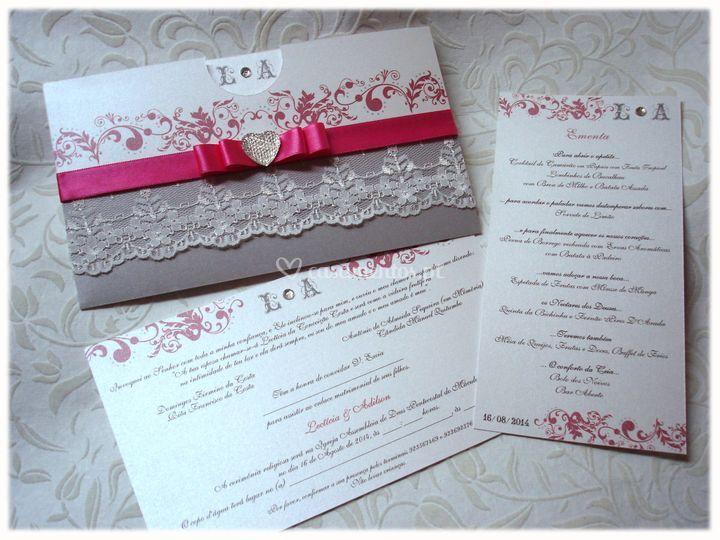 Convite wedding