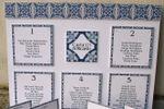 Conjunto-tema azulejo