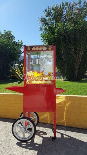 Máquina de pipocas