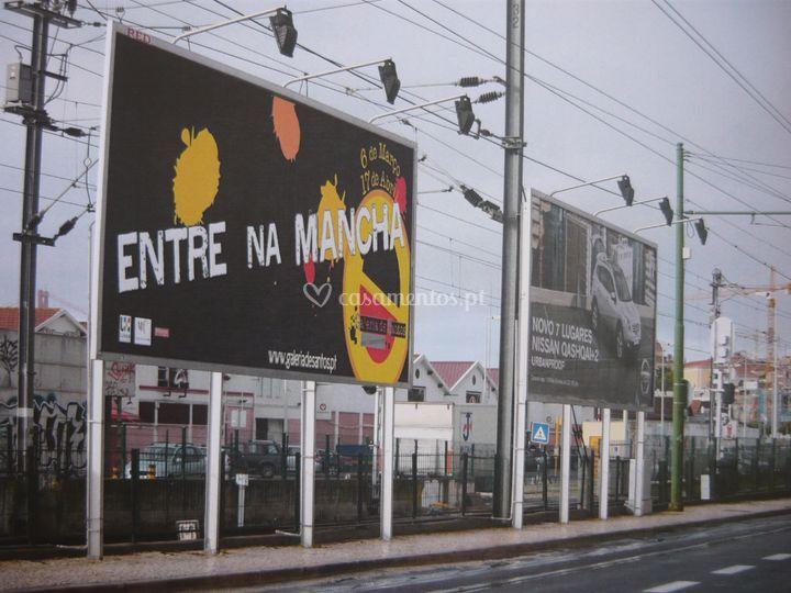 Outdoor exposição Miró