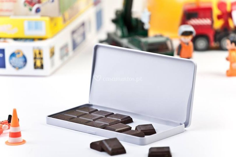 Caixinha chocolate