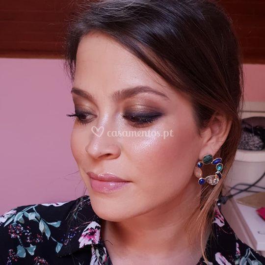 Makeup de convidada