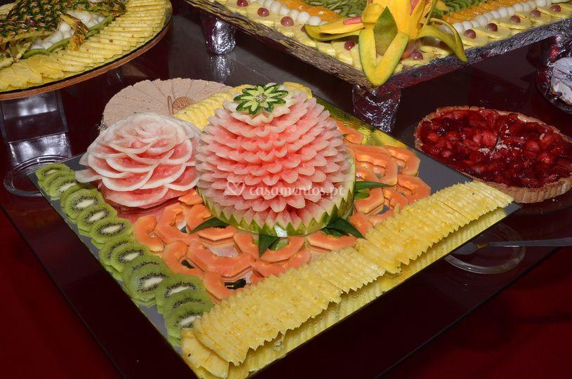 A arte aplicada ao catering