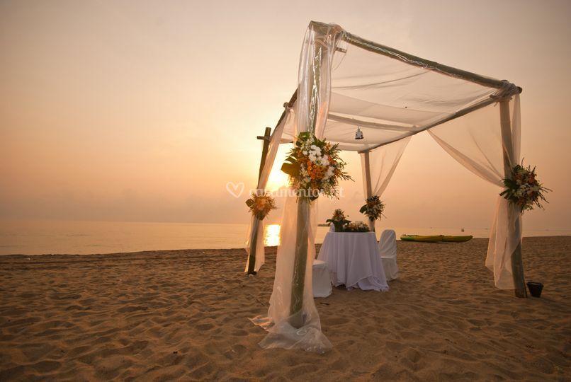 Casar na praia