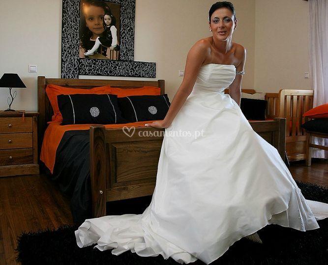 A noiva no quarto