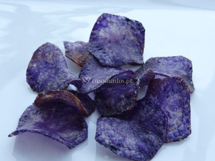 Chips de Batata Violeta