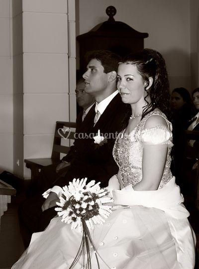 Princesa com vestido vintage