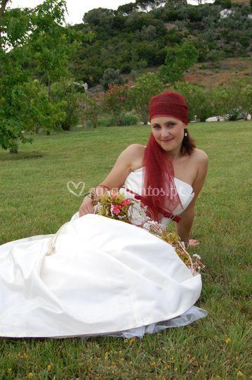 Noiva real do atelier