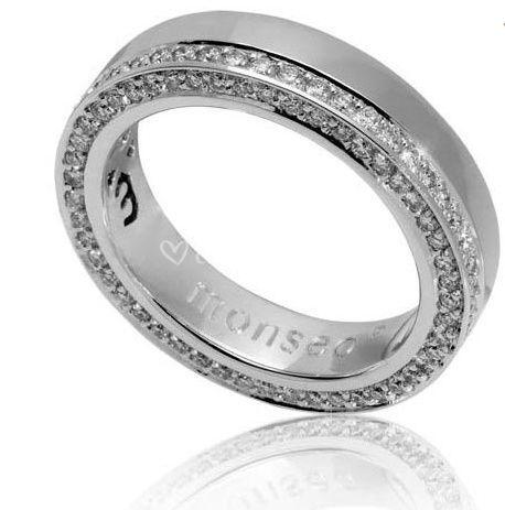 Anéis em ouro branco