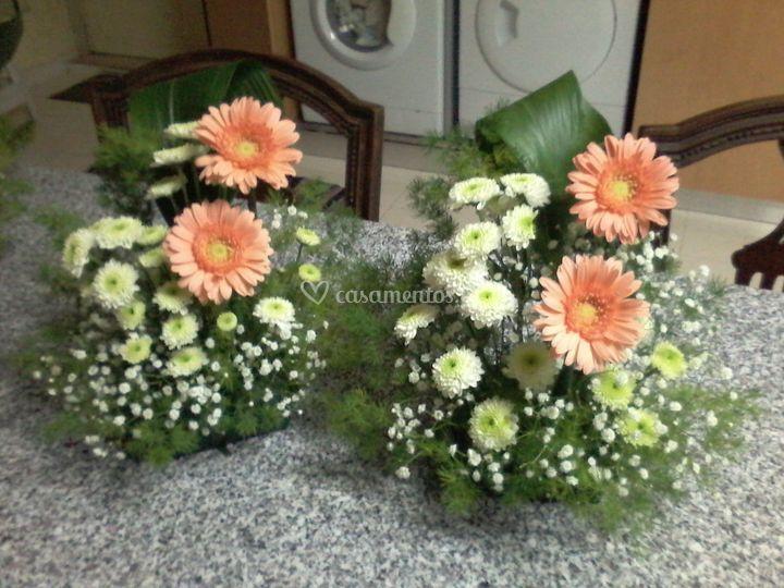 Centros florais para altares