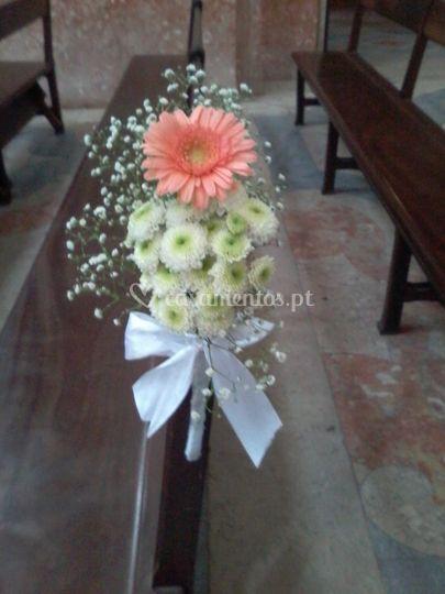 Bouquet's bancos de igreja