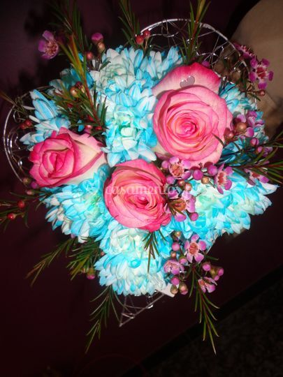 Bouquet damas