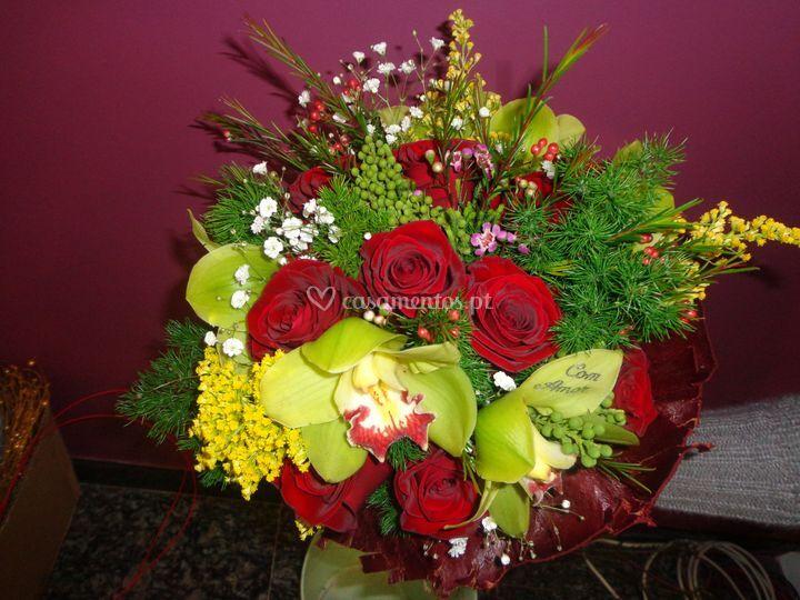Bouquet flores frescas