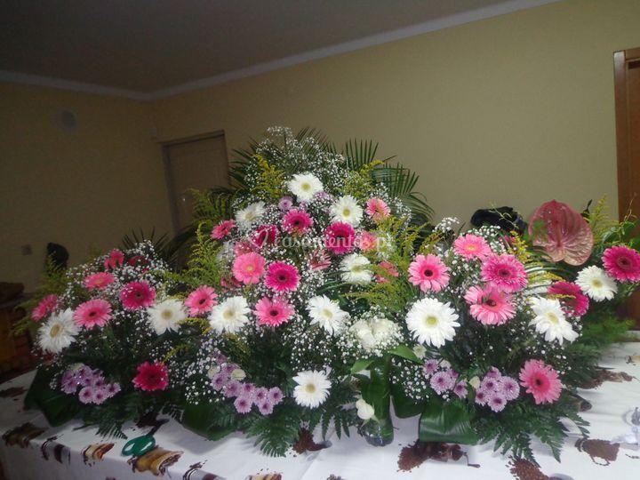 Arranjos florais decoração