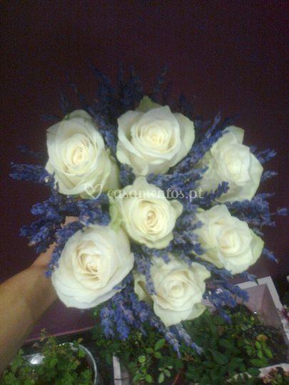 Bouquet de noiva alfazema