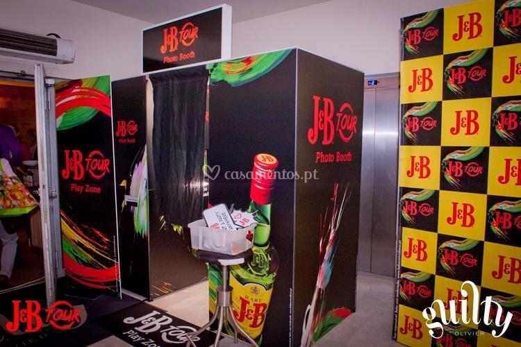 Photocabine personalizada J&B