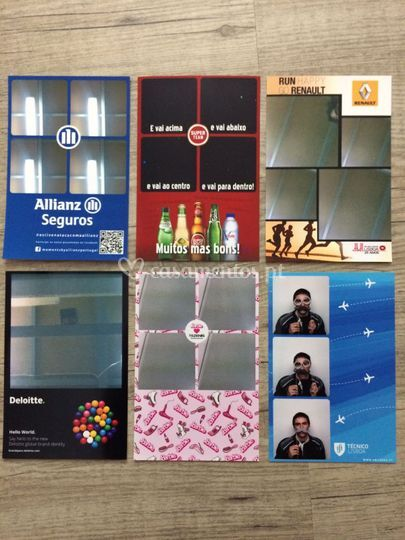 Exemplos de layouts